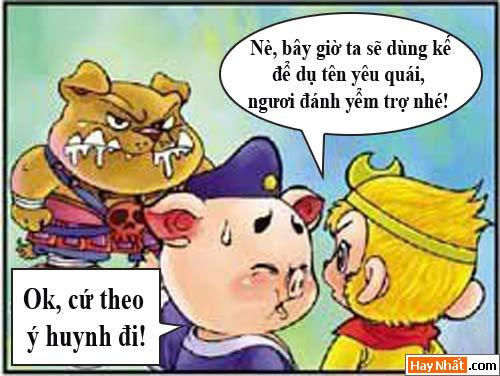 Tây Du Ký Hài, Cẩu đại vương, tay du ky, ton ngo khong, ngo khong, bat gioi, duong tang