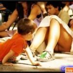Khi trẻ con.. tò mò