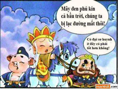 Tây Du Ký Hài (51): Sống bằng niềm tin