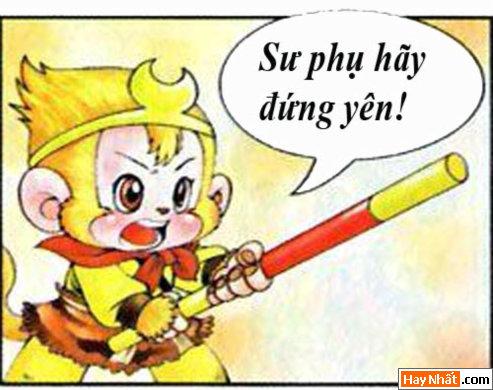 tay du ky, tay du ky hai, ton ngo khong, dien thoai di dong, ba la sat, nguu ma vuong, bat gioi, su phu, truyen cuoi, truyen hai