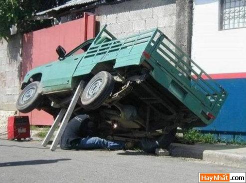 Sửa xe mạo hiểm
