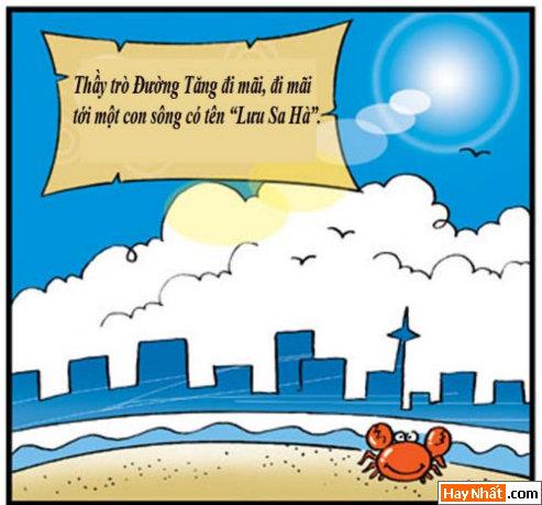 Tân Tây Du Ký (21): Tắm tiên ở Lưu Sa Hà