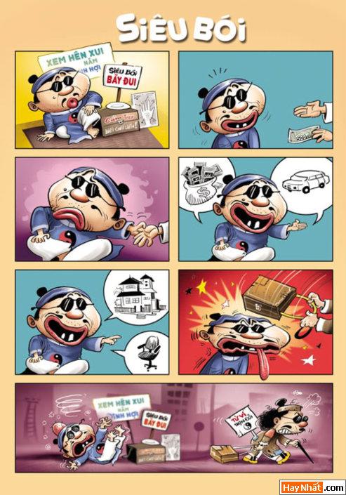 Truyện tranh hài: Siêu Thầy Bói