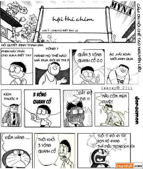 Nobita thi chim