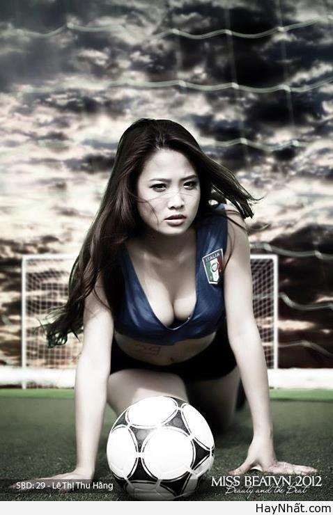 Người đẹp & Euro 2012 (Part 2)