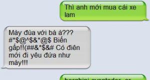 Những tin nhắn cười đứt ruột