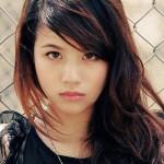 Hotgirl Linh Miu với nụ cười rạng rỡ
