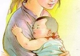 Chút sức lực cuối cùng của người mẹ