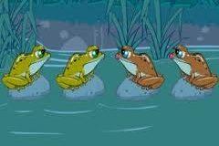 Chú ếch thông minh