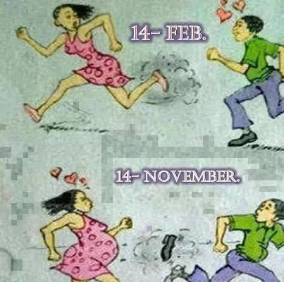Lễ tình nhân và 9 tháng sau...