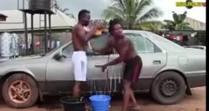 Chớ dại nhìn gái khi đang rửa xe