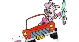 Khi phụ nữ lái xe
