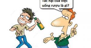 Tác hại của việc uống rượu