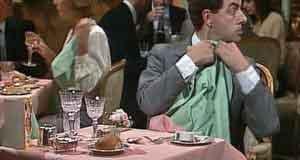 Mr. Bean ăn nhà hàng
