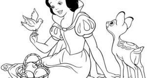 Tranh tô màu công chúa cho bé gái thỏa sức sáng tạo