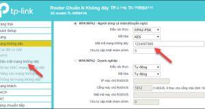 Cách đổi mật khẩu wifi TP-Link bằng máy tính và điện thoại