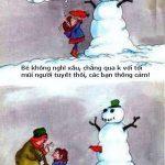 Cái mũi của người tuyết!