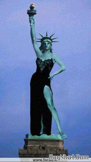 Nữ thần tự do thế kỷ 22!!