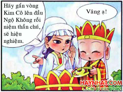 Tây Du Ký Hài (26): Hướng dẫn sử dụng vòng Kim Cô