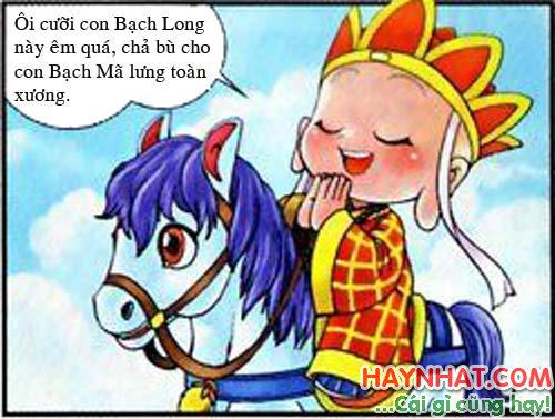 Tây Du Ký Hài (28): Tâm sự với Bạch Long