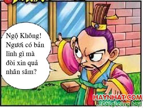 Tây Du Ký Hài (29): Sư phụ chê Nhân Sâm quả
