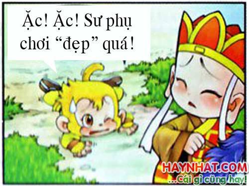 """Tây du ký, Tây Du Ký Hài, Tôn Ngộ Không,Sư phụ """"chơi đẹp"""""""